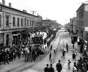 Labour Day Parade, Simpson Street